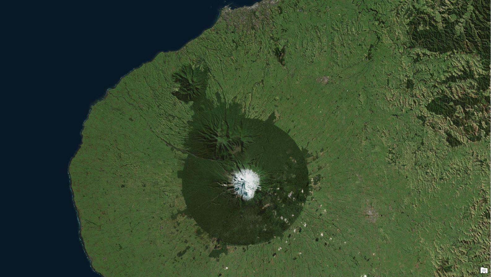 Taranaki image map