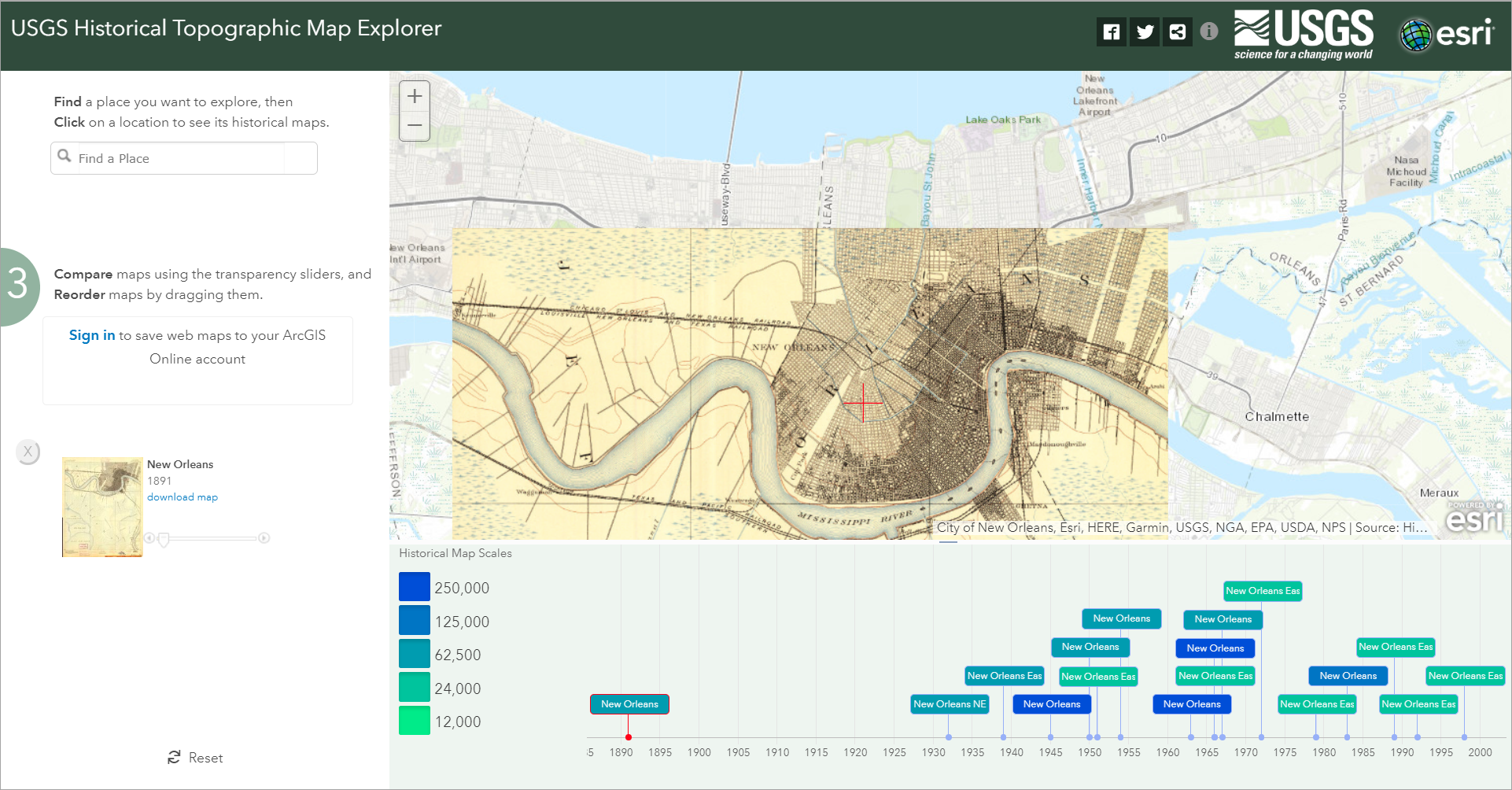 Web App - New Orleans