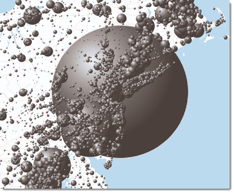3D Spheres Style - BMP Symbols