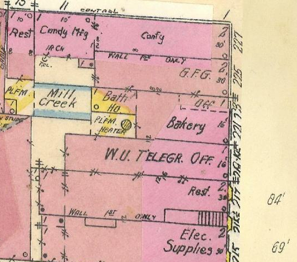 Sanborn map excerpt
