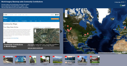 Imagery Story Map