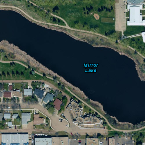 Camrose – Mirror Lake, 15cm imagery