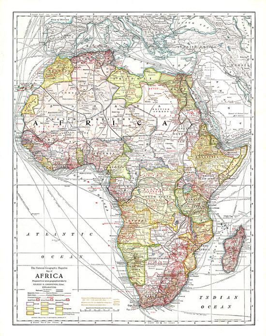 Africa - 1909