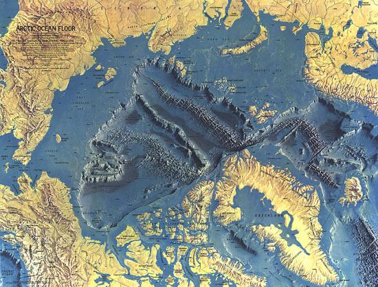 Arctic Ocean Floor - 1971