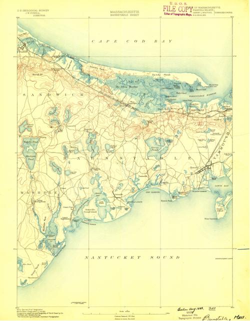 Barnstable, Massachusetts, 1888
