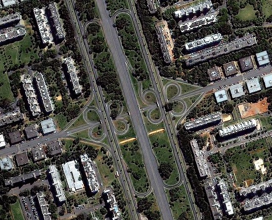 1m IKONOS imagery for Brasilia, Brazil