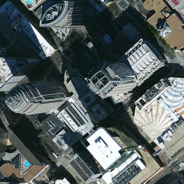 30cm DigitalGlobe imagery for Charlotte, North Carolina