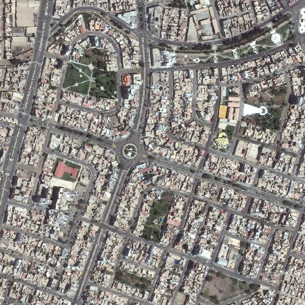 DigitalGlobe imagery for Chiclayo, Peru