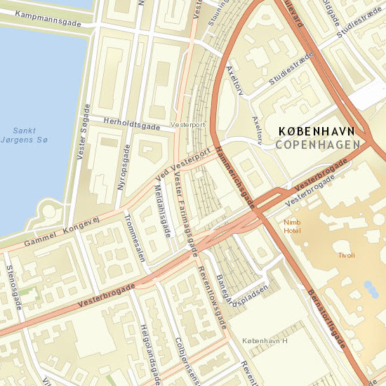 Street Map updated and expanded coverage