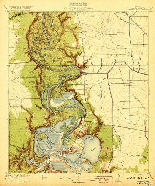 Highlands, Texas, 1912