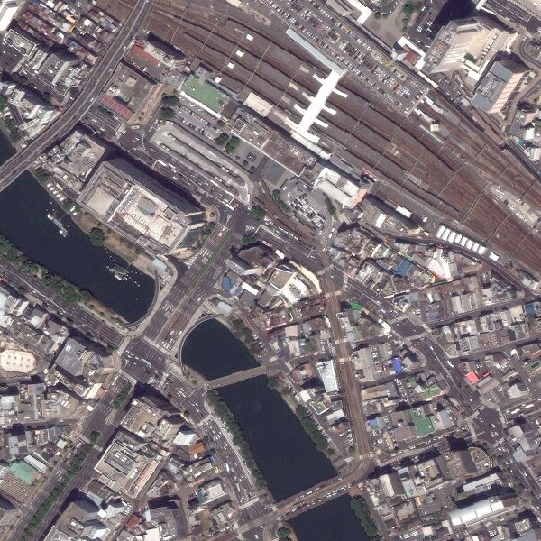 DigitalGlobe imagery for Hiroshima, Japan