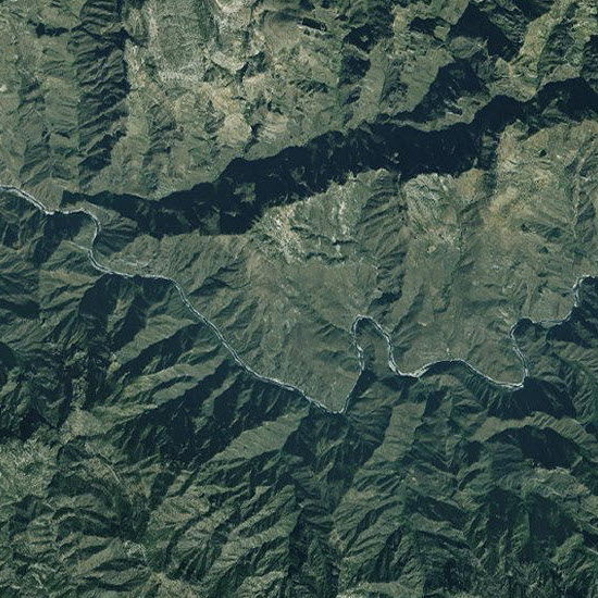 Copper Canyon, Mexico, SPOT Imagery 2.5m