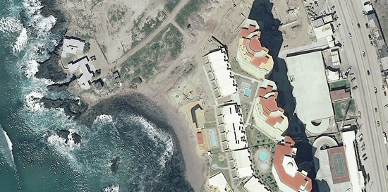 1m IKONOS imagery for Rosarito, Mexico