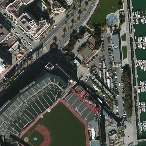 30cm DigitalGlobe imagery for San Francisco, California