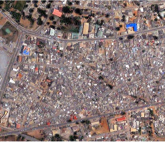 1m IKONOS imagery for Accra, Ghana