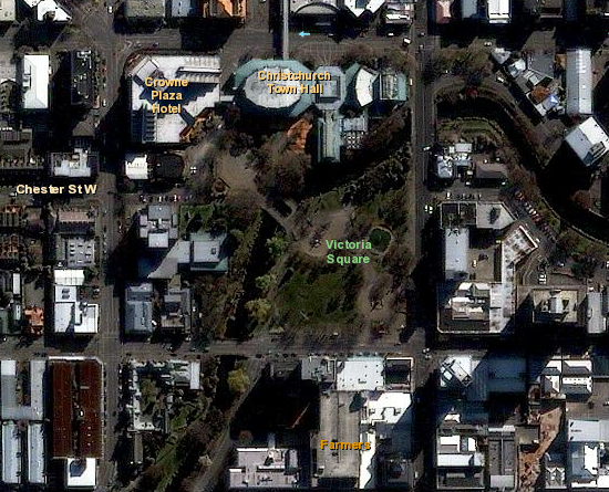 1m IKONOS imagery for Christchurch, New Zealand
