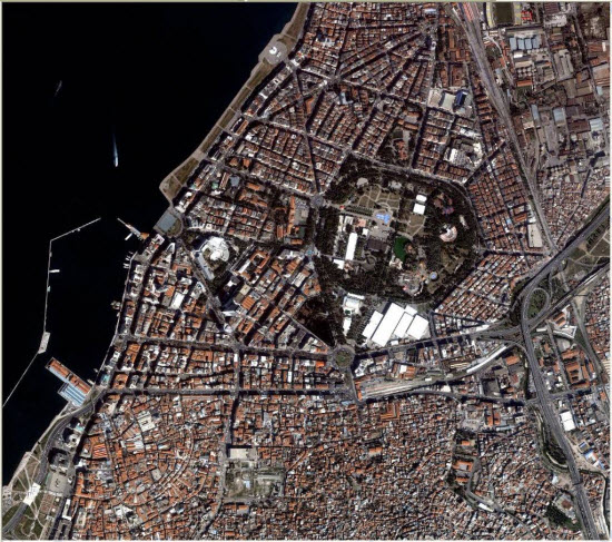 1m IKONOS imagery for Ismir, Turkey