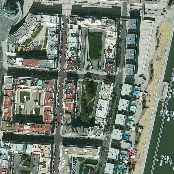 60cm DigitalGlobe imagery for Lisbon, Portugal