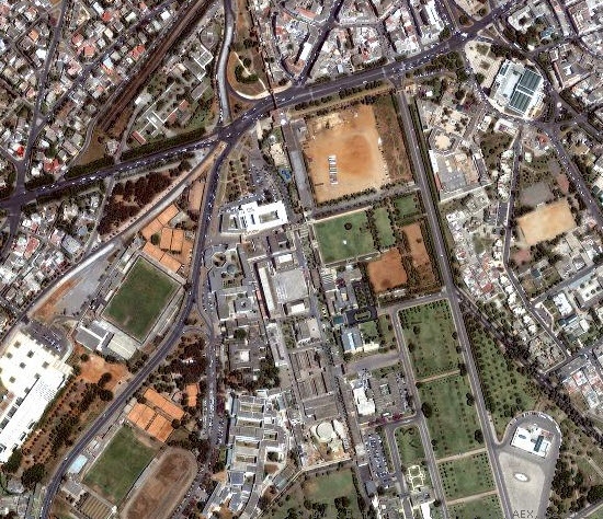 1m IKONOS imagery for Rabat, Morocco