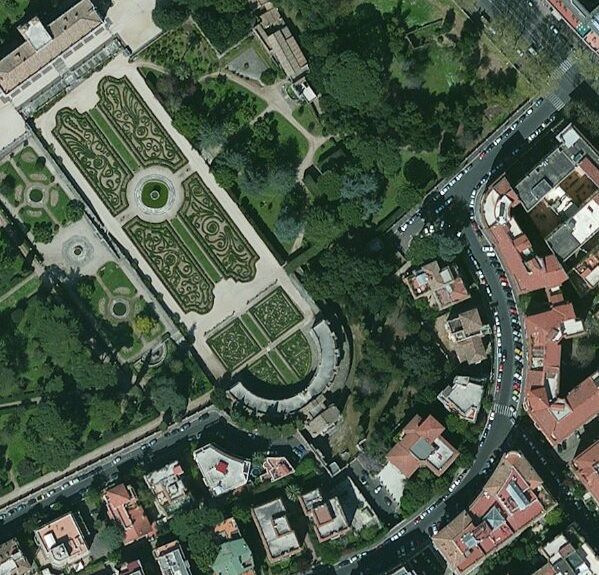 60cm DigitalGlobe imagery for Rome, Italy