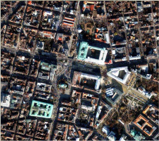 1m IKONOS imagery for Sofia, Bulgaria