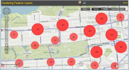 Clustering in the Flex Viewer