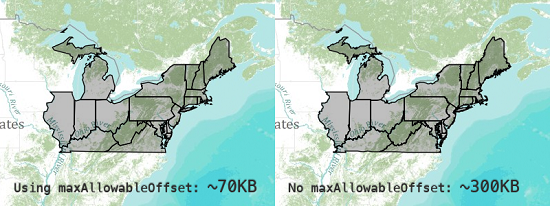 Northeast states graphics comparison